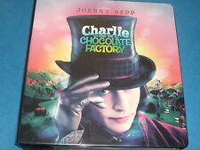 Johnny Depp CHARLIE AND THE CHOCOLATE FACTORY 2 x Mini-Master Sets Trading Cards