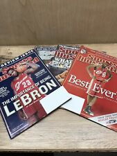 Lebron James Sports Illustrated Lot Of 4!