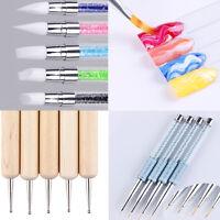 Nail Art UV Gel Brush Painting Drawing Dotting Pen Liner Paint  Tools