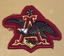 VINTAGE Anheuser Busch Employee Patch 1960s Brewery Eagle *NEW*
