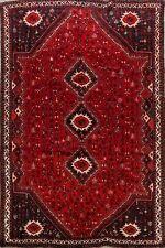 Vintage Tribal Lori Geometric Hand-Knotted Area Rug 8x10 Oriental Nomad Carpet