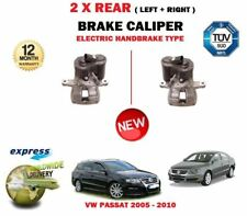 FOR VW PASSAT 3C2 3C5 2005-> NEW 2X REAR LEFT RIGHT ELECTRIC HAND BRAKE CALIPER