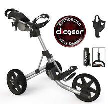 NEW IN BOX 2016 Model Clicgear 3.5 + Golf Push Cart Gray/Black Pull 3.0 Trolley