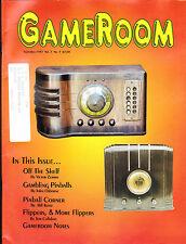 GameRoom Magazine Vintage Radios Pinball Flippers September 1995