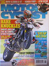 Motorcyclist Magazine June 2009 Bare Knuckles Ducati Builds the Ultimate Street