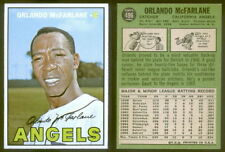 (23320) 1967 Topps 496 Orlando McFarlane Angels-EM