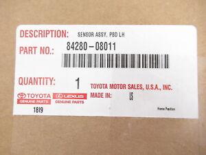Genuine OEM Toyota 84280-08011 Liftgate Left Side Object Sensor 2011-2020 Sienna