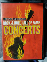 The 25th Anniversary Rock & Roll Hall of Fame Concerts DVD New/Sealed