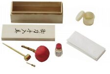 NEW Samurai Katana Japanese Sword Maintenance Cleaning Oil Kit w/ Box