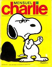 CHARLIE MENSUEL SNOOPY SCHUTZ REVUE N° 1 ? DE 1982