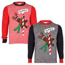 Patternless Christmas Jumpers & Cardigans for Men