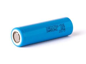 Samsung INR21700-50E - 5000mAh 3,6-3,7V Lithium Ionen Akku