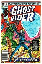 GHOST RIDER #72 (NM-) CIRCUS OF CRIME Appearance! 1982 Newsstand High Grade
