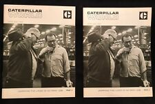 Caterpillar World Vintage April May 1968 Lot Of 2 Magazines