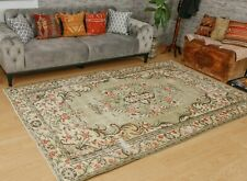 "Pastel Green area Rug 5'3"" x 8'10"" Vintage Luxury Rug Rustic Turkish Rug Green"
