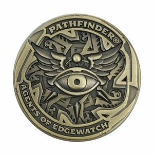 PATHFINDER AGENTS OF EDGEWATCH HERO POINT TOKEN 2nd edition Paizo Campaign Coins