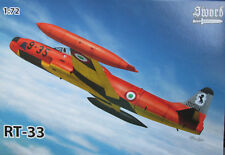 Sword 1/72 SW72113 Lockheed RT-33 Shooting Star Model kit