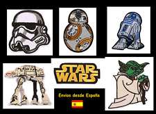 Parches bordados termoadhesivos motivo Star Wars