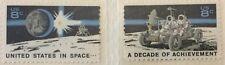 1971 8c Space Achievement Commemorative singles, Scott #1434-35, MNH, VF