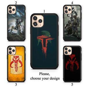 Mandalorian Boba Fett case for iphone 11 12 XR Pro SE Max X XS 8 plus 7 6 TPU SN