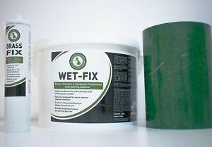 Artificial Grass Glue Tape Adhesive Joining Seaming Kit Fake Turf