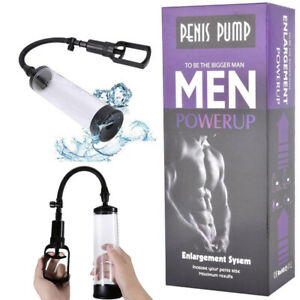 Penis Vacuum Pump Male Bigger Enlarger Enhancer Tool Growth Enlargement Device