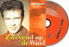 HENK TEMMING - Zwevend op de wind CD SINGLE 2TR DUTCH CARDSLEEVE 1996