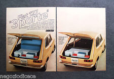 P147 - Advertising Pubblicità -1972- FIAT 127 3 PORTE