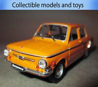 car model ZAZ-968A Zaporozhets, auto legends of the USSR, casting, 1: 43