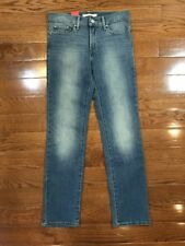 Womens Size 28in Levis 711 Skinny Jeans Mid Rise Medium Wash