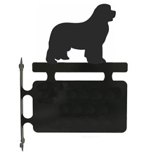 Newfoundland Dog Metal Perosnalised House Sign