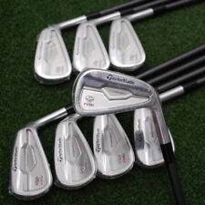"""TaylorMade Golf RSi TP Forged Irons 3-PW Custom Plus 1/2"""" Graphite Regular - NEW"""