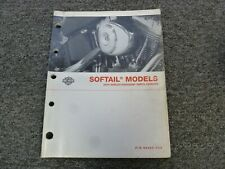 2004 Harley Davidson Softail Heritage Classic Springer Parts Catalog Manual