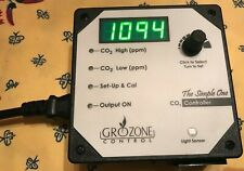GROZONE  SCO2 CO2 CONTROLLER 1 OUTPUT 0-5000 PPM
