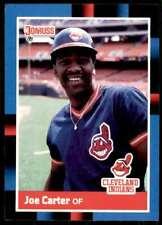 1988 Donruss Baseball Joe Carter Cleveland Indians #254
