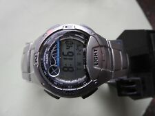 New Old Stock Casio Men's Quartz W753D-1AV Moon Phase Tide Graph  Watch