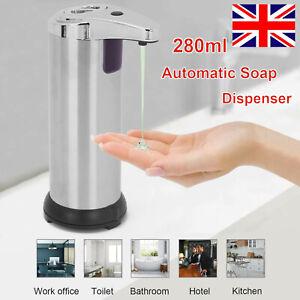 280ML Touchless  Hands Free Liquid Sanitizer  IR Sensor Automatic Soap Dispenser