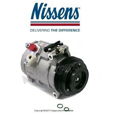 For BMW E53 X5 2000-2003 Air Condition A/C Compressor w/ Clutch Nissens 89081