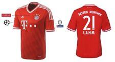 Trikot Adidas FC Bayern Champions League Finale Wembley 2013 - Lahm 21