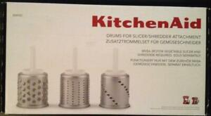 KitchenAid EMVSC - Drums for slicer / Cylindres tranchoir râpe Zusatztrommelset
