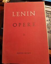 Lenin opere numero 11 editori riuniti 1962