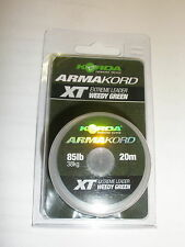 Korda Armakord Xt 85lb 20m Extreme Leader Carp fishing tackle