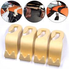 4Pcs Auto Car Seat Back Headrest Hanger Storage Hook for Handbag Umbrella Purse