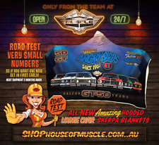 FORD FALCON GT ANGRY BIRDS SHERPA ADULT SUBLIMATED HOODED BLANKET LOW STOCK
