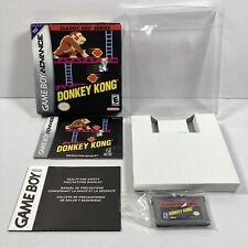 Donkey Kong Classic NES Series (Game Boy Advance, 2004) Complete w Box & Manual