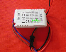 7-20x1W 350mA Constant Current LED Dimmable Driver Power Supply AC185-277V 10pcs