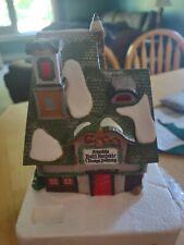 "Dept. 56 Heritage Village North Pole Series ""Santa's Bell Repair #56389 Retired"