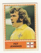 RARE PANINI 1980 PAT JENNINGS EURO UEFA CUP UNUSED SOCCER STICKER !!