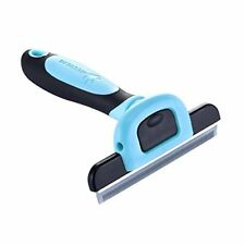 MIU COLOR Pet Deshedding Tool  Grooming Tool for Small, Medium  Large Dogs