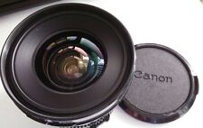 Canon New FD 20mm f/2.8 NFD MF wide angle Lens 20mm 2.8